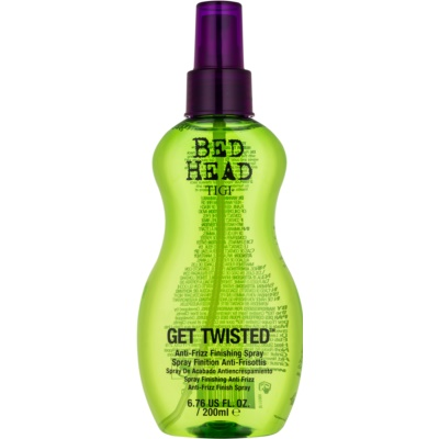 TIGI Bed Head Get Twisted fixáló finish spray töredezés ellen
