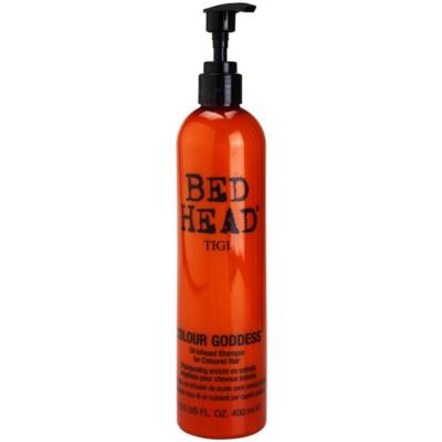 olejový šampon pro barvené vlasy