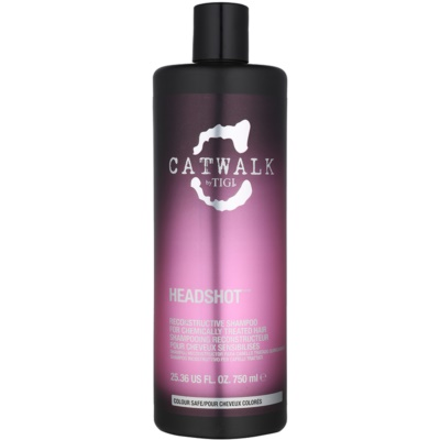 TIGI Catwalk Headshot Regenerating Shampoo For Chemically Treated Hair