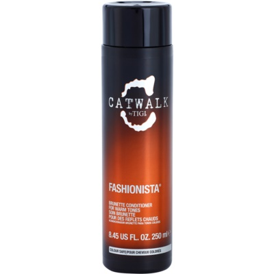 Conditioner für einen warmen Farbton brauner Haare