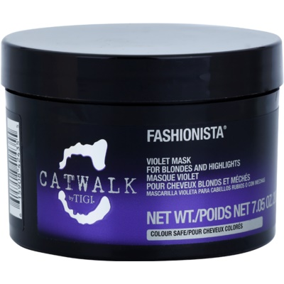 Purple Mask For Blondes And Highlighted Hair