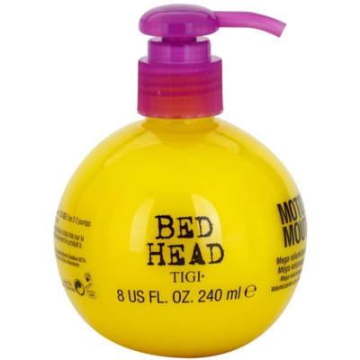 TIGI Bed Head Motor Mouth crème volumatrice brillante effet néon