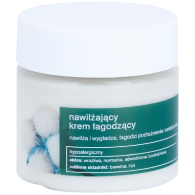 Soothing And Moisturizing Cream With Smoothing Effect