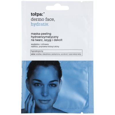enzymatická peelingová maska s hydratačným účinkom