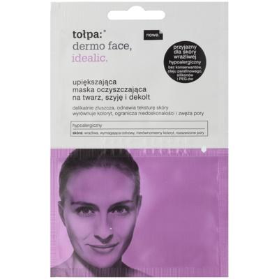 verjüngende Reinigungsmaske für Gesicht, Hals und Dekolleté