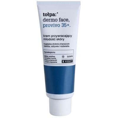 crema de día nutritiva  rejuvenecedor de la piel
