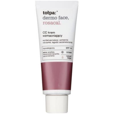CC Cream pentru piele sensibila predispusa la inrosire SPF 10