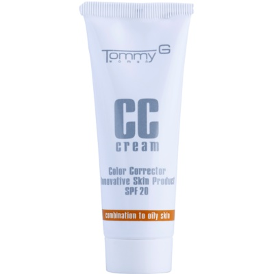 hydratačný CC krém pre zmiešanú až mastnú pleť SPF 20
