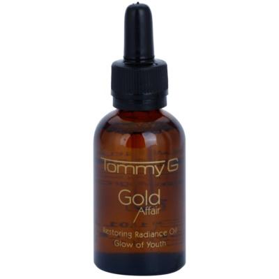 aceite regenerador con efecto alisante para iluminar la piel