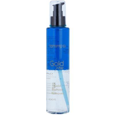 desmaquillante bifásico para maquillaje resistente al agua para ojos sensibles