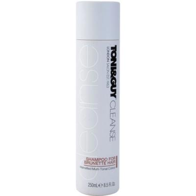 šampon pro hnědé odstíny vlasů