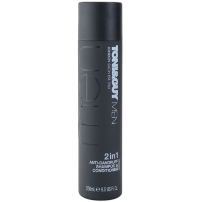 TONI&GUY Men Shampoo And Conditioner 2 In 1 Against Dandruff