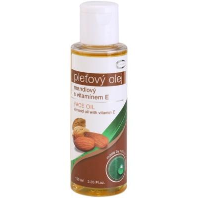 óleo de amêndoas com vitamina E