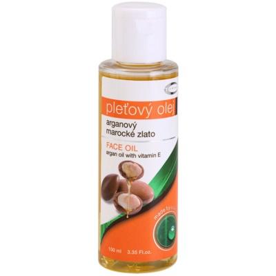 arganový olej s vitamínem E