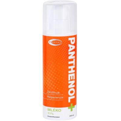Topvet Panthenol + upokojujúce telové mlieko