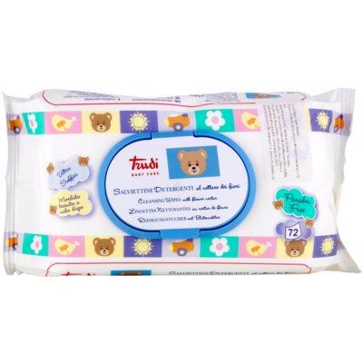 Trudi Baby Care Reinigende Vochtigedoekjes met Bloemennectar