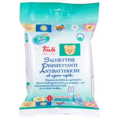 Trudi Baby Care дезинфекциращи мокри кърпички
