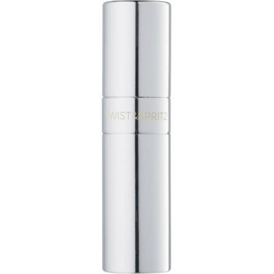 Twist & Spritz Twist & Spritz plnitelný rozprašovač parfémů unisex  ml  Silver Polished