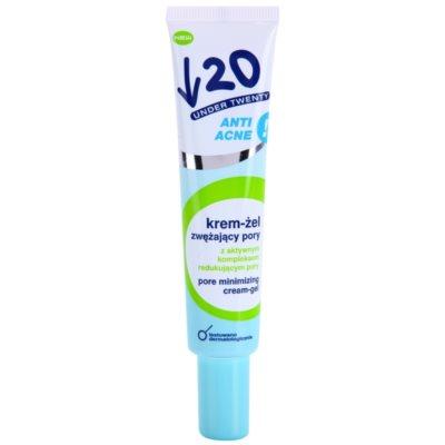 crema gel pentru pori dilatati