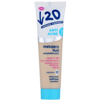 mattierendes Make-up SPF 10