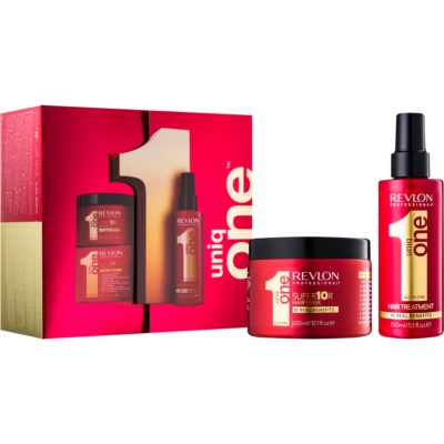 Uniq One All In One Hair Treatment kozmetični set IV.