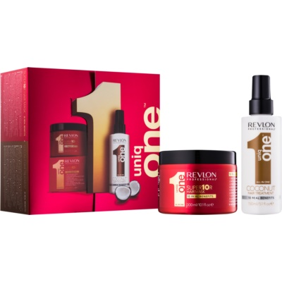 Uniq One All In One Coconut Hair Treatment coffret VI.