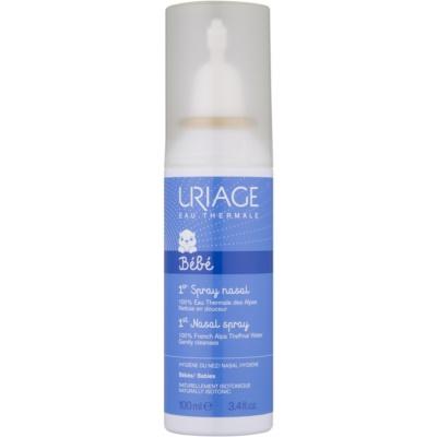 Uriage 1érs Soins Bébés solução fisiológica natural para acalmar o muco nasal
