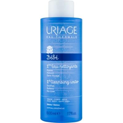 Uriage 1érs Soins Bébés água para limpeza suave para rosto e corpo