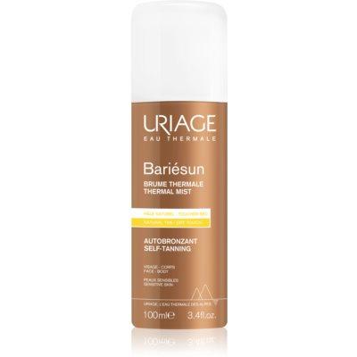 Uriage Bariésun Autobronzant samoopalovací sprej na tělo a obličej