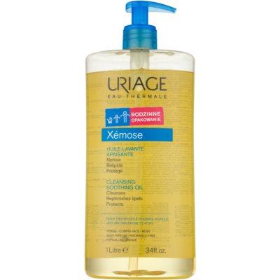 zklidňující čisticí olej na obličej a tělo
