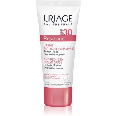 Uriage Roséliane Tagescreme für empfindliche Haut mit Neigung zu Rötungen SPF 30