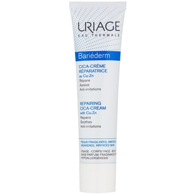 Uriage Bariéderm Cica Repairing Cream with Cu-Zn