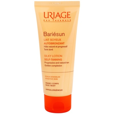 Silky Self-Tanning Lotion For Face And Body