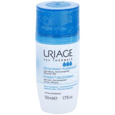Uriage Hygiène dezodorans roll-on protiv bijelih i žutih mrlja