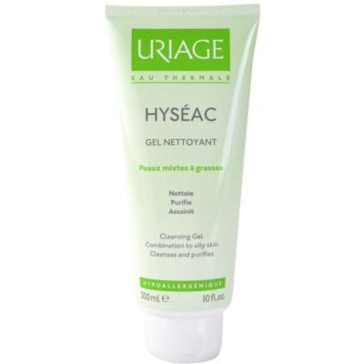 Uriage Hyséac gel nettoyant pour peaux mixtes et grasses