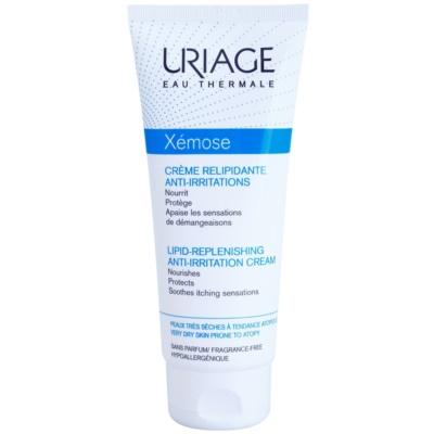 Creme lipido-reabastecedora e anti irritações para pele sensível e atópica