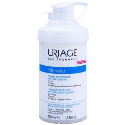 Uriage Xémose pomirjajoča krema, ki koži vrača lipide za zelo občutljivo suho in atopično kožo