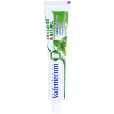Vademecum Anti Caries & Naturel Toothpaste for Irritated Gums