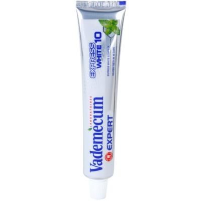 Vademecum Expert Express White 10 dentífrico com efeito branqueador