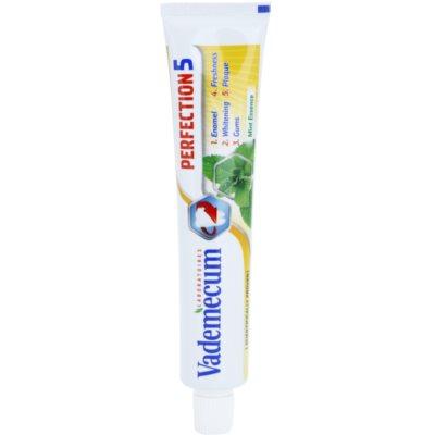 Vademecum Perfection 5 belilna zobna pasta za popolno zaščito zob