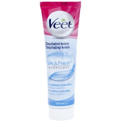 depilační krém na nohy pro citlivou pokožku
