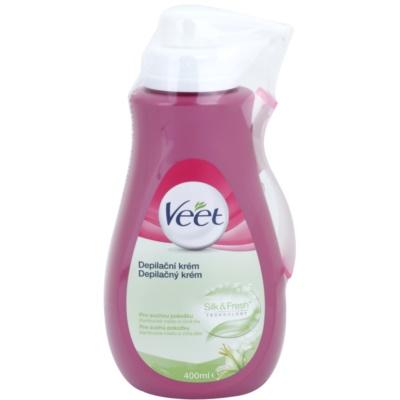 hydratační depilační krém pro suchou pokožku