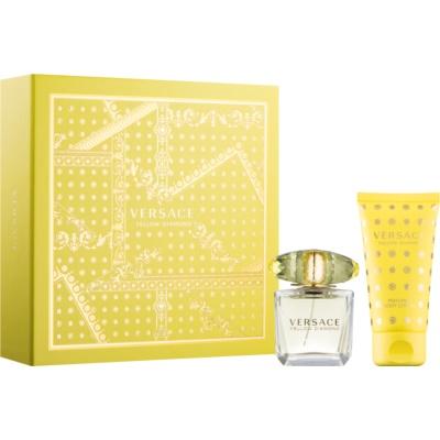 Versace Yellow Diamond poklon set II. mlijeko za tijelo 50 ml + toaletna voda 30 ml
