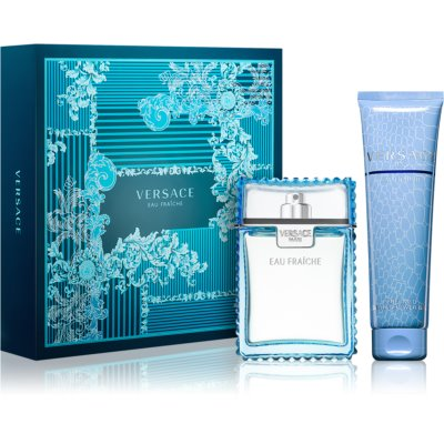 Versace Man Eau Fraîche Gift Set XXVIII. Bath and Shower Gel 150 ml + Eau De Toilette 100 ml