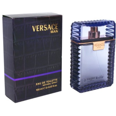 Versace Man Eau de Toilette for Men 100 ml