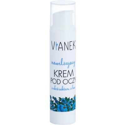 creme de olhos com efeito hidratante para pele seca a sensível