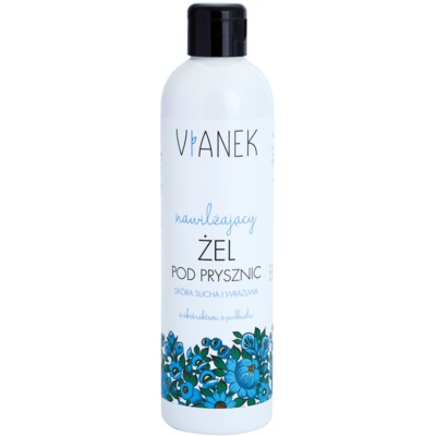 Shower Gel With Moisturizing Effect