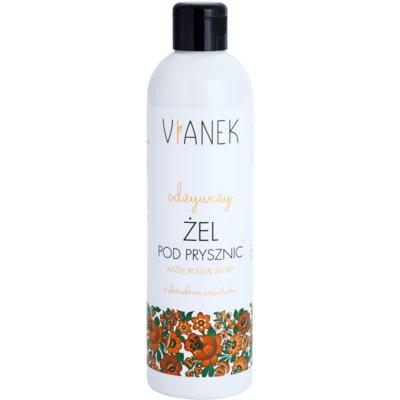 sprchový gel s vyživujícím účinkem