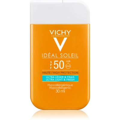 Vichy Idéal Soleil ultra lehký opalovací krém na obličej a tělo SPF50