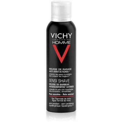 Vichy Homme Anti-Irritation gél na holenie pre citlivú a podráždenú pleť